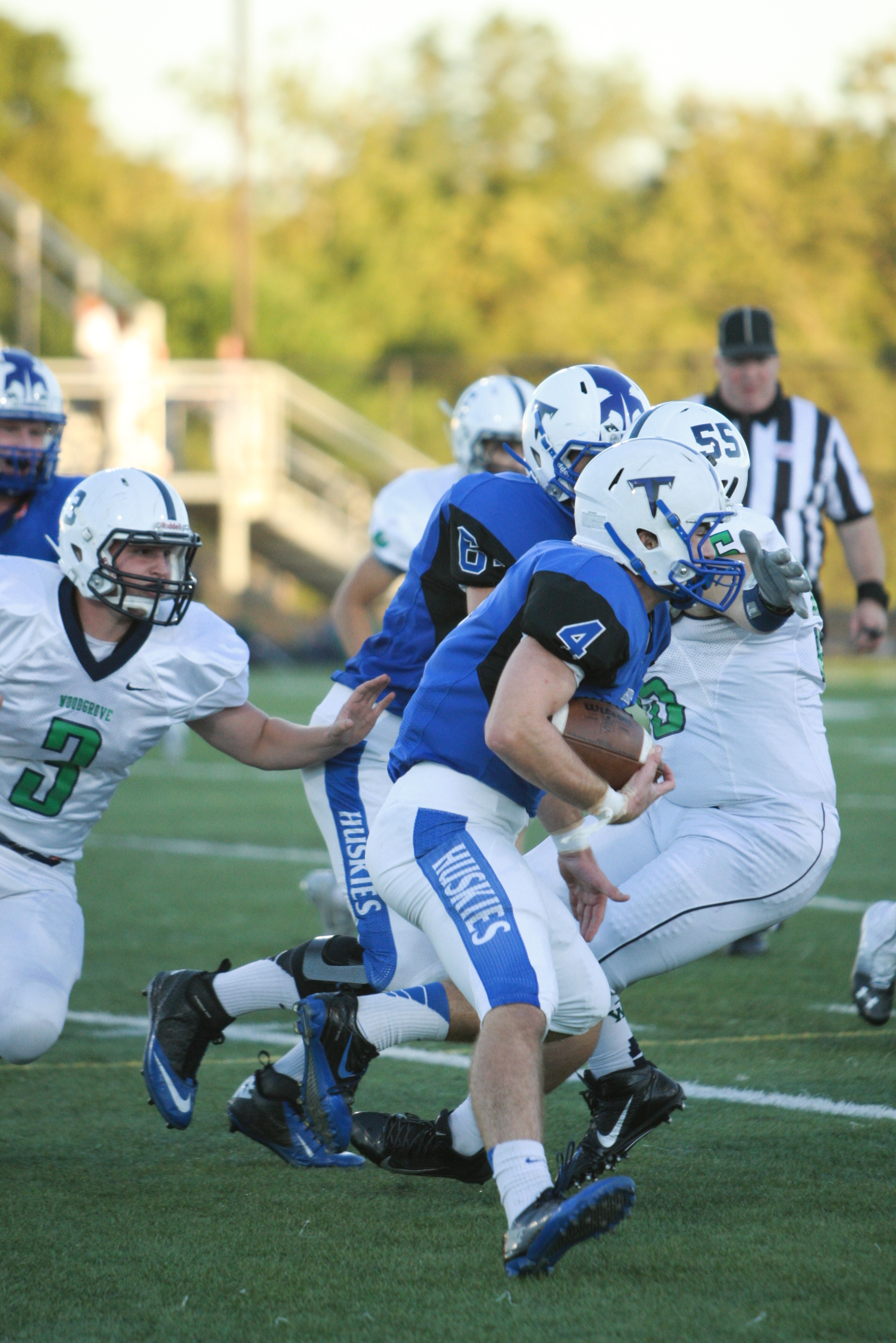 The Tuscarora football team remains undefeated this season, with a winning streak of 6 games. Photo by Delaney Casten.