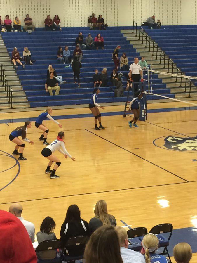 Tuscarora+Volleyball+team+loses+against+Broad+Run