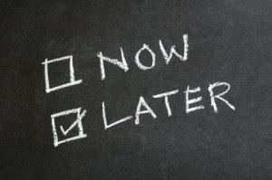 Procrastination? Maybe Later