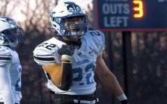 Bryce Duke rushed for more than 200 yards and scored two touchdowns in Tuscarora High School's season-opening win as the Huskies played their first football game in 14 months.